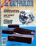 HAUT PARLEUR [No 1774] du 15/03/1990 - AMPLIFI - ENCEINTES ACOUSTIQUES - TELEVISION PAR SATELLITE - UNE TELEALARME A TRANSMISSION PAR LE SECTEUR.