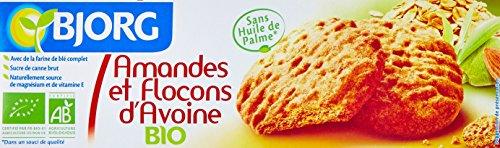 Bjorg Biscuit Amande Flocons d'Avoine Bio 125 g