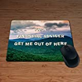 I 'm a Finanzberater Get Me Out Of Here. – Permium Maus Mat – 5 mm dick