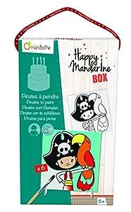 Avenue Mandarine - Happy Mandarine Box, Piratas para pintar (KC006O)