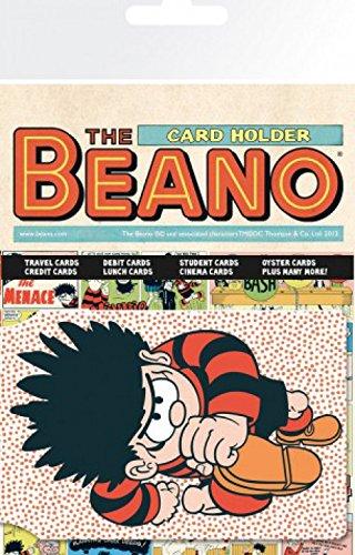 set-the-beano-dennis-the-menace-tarjeteros-para-tarjetas-de-crdito-10x7-cm-y-1x-pegatina-sorpresa-1a