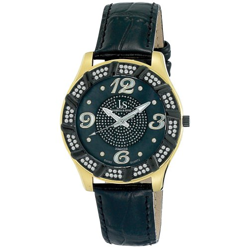 Joshua Sons Homme JS-17-YG Swiss Quartz Diamant Montre