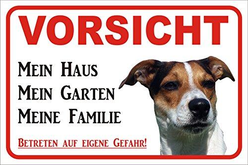 Schild Vorsicht Jack Russell Terrier