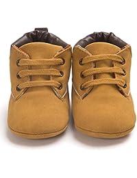 Primeros pasos para Bebé niño, Amlaiworld Recién nacido bebé niño niña zapatos lindos zapatos de lona antideslizante suave 0-18 Mes