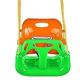 begorey Babyschaukel 3-in-1 Schaukel für Baby Kleinkinder ab 6 Monate (Grün)