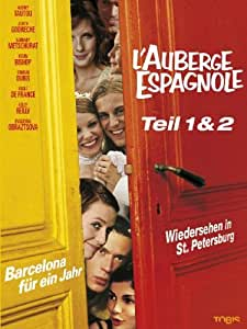 L'auberge Espagnole 1+2 - Collector's Box [2 DVDs]
