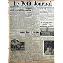 PETIT JOURNAL (LE) [No 17092] du 13/10/1909 - L'ARMEE FRANCAISE JUGEE PAR UN OFFICIER ALLEMAND - UN EBOULEMENT DE TRANCHEE PLACE DAUMESNIL A CAUSE HIER LA MORT D'UN OUVRIER - LA CONQUETE DU TCHAD - FANTASTIQUE AVENTURE - PROPOS D'ACTUALITE - UNE PETITION PAR JEAN LECOQ - LE CAP D'AIL MENACE PAR UN ROCHER - LE SORT DE FERRER - CONDAMNE A MORT L'ANARCHISTE ESPAGNOL SERA-T-IL FUSILLE - LA FILLE DE FERRER