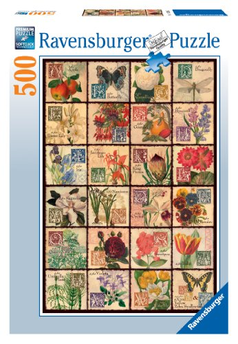 Preisvergleich Produktbild Vintage Flora 500 Piece Puzzle