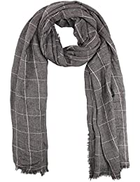 FabSeasons Self Design Cotton Scarf, Scarves, Stole & Shawl for Men & Women for Summer & Winters, Large Size - 100*180 cms