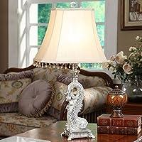 Guo Animal lampada da tavolo americano pastello pasta di vetro Goldfish lampada da letto lampada da comodino Soggiorno Studio illuminazione creativa