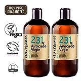 Naissance Huile d'Avocat Vierge (n° 231) - 500ml (2 x 250ml) - 100% pure, naturelle, non-raffinée...