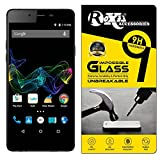 Roxel® Micromax Canvas Sliver 5 Q450 360° Flexiable Tempered Glass with Unbreakable Impossible Film Glass [ Better Than Tempered Glass ] Screen Protector for Micromax Canvas Sliver 5 Q450