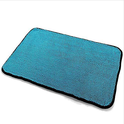 YMYM Microfiber Car Handtuch Coral Velvet, 2 Packs, blau, Weiche Mikrofaser Pinzette, Maschinenwaschbar