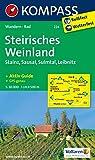 Steirisches Weinland - Stainz - Sausal - Sulmtal - Leibnitz: Wanderkarte mit Aktiv Guide und Radrouten. GPS-genau. 1:50000 (KOMPASS-Wanderkarten, Band 224)