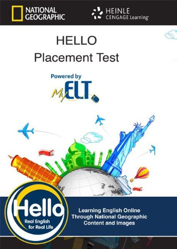Preisvergleich Produktbild Hello Placement Test: Heinle English Language Learning Online - Real English for Real Life!