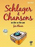 Schlager + Chansons der 50er bis 70er Jahre - arrangiert für Klavier - mit 2 CD´s [Noten / Sheetmusic]