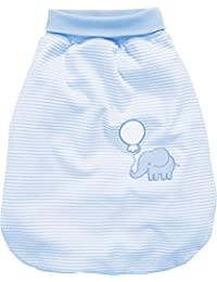 Schnizler Strampelsack Elefant Mit Elastischem Umschlagbund, Oeko Tex Standard 101, Saco de Dormir para Bebés, Azul (Bleu 17), Talla única