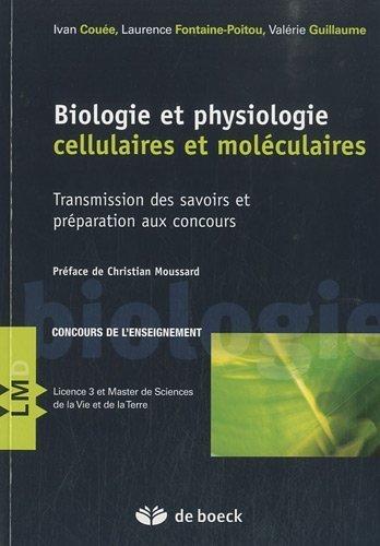 Biologie cellulaire et moléculaire- Préparation aux concours et transmission des savoirs de Ivan Couée (2 septembre 2010) Broché