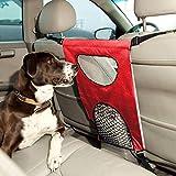 Galapara Mascota Perro Red Rejilla Auto Asiento Trasero Cubierta Protectora De Coche Malla Red Barrera para Niños Perros Mascotas Protector de Seguridad Prevenir Molestar a los niños Perros