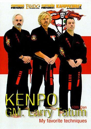 Kenpo Karate My Favorite Techniques  Larry Tatum 10.Dan Picture
