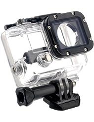 Goliton® Schützend Gehäuse Hülle mit GoPro Hero 3 - Offene Seitentaschen für FPV Ohne Kabel