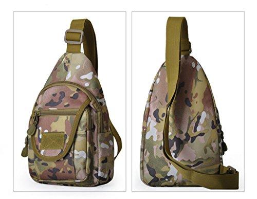 SUNLONG , Sac pour homme à porter à l'épaule Desert digital taille unique CP camouflage