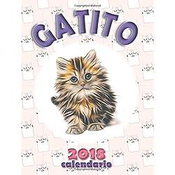 Gatito 2018 Calendario (Edición España)