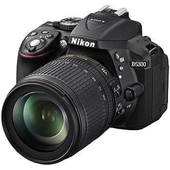 Nikon D5300 - Cámara réflex de 24.2 MP (Pantalla TFT LCD ...