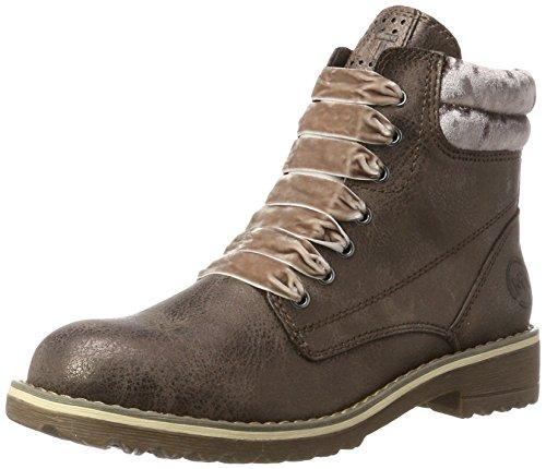 MARCO TOZZI Damen 26280 Stiefel, Braun (Mocca Met.Comb), 37 EU