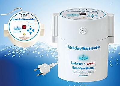 Urteilchen-Wasserteiler zur Herstellung von basischem Wasser, saueres Wasser und kolloidales Silber, Base, basisch, Ionisator, Entgiften, Entsäuern, Silberwasser
