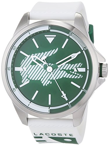 Lacoste Unisex-Adult Analogue Classic Quartz Watch with Silicone Strap 2010965
