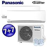 DUO MULTI Split Inverter PANASONIC STANDARD TZ Klimaanlage Klimagerät 2+2 KW