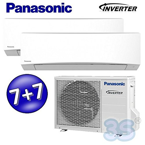 CLIMATISEUR Inverter Reversible Bi-split 20+20m² 2+2 kw PANASONIC SPLIT TZ