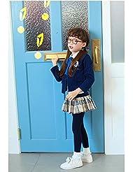 inVunt(TM) Escudo de los ni?os azules manga larga Cardigan suave para chicas y chicos estilo de la moda caliente de la escuela