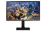 Samsung U24E850R 60 cm (23,6 Zoll) Monitor (HDMI, USB, 4ms Reaktionszeit, 3840 x 2160 Pixel, EEK C) schwarz/silber