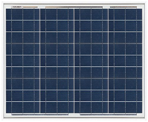 Panel Solar 50w Policristalino   Características Panel Solar 50w - 50w de potencia - 12v nominales - 36 Celdas - Policristalino - Pequeño y Ligero - Tamaño: 545mm x 668mm x 28mm - Peso: 4,3kg - El panel puede generar entre 170wh a 350wh al día, depen...