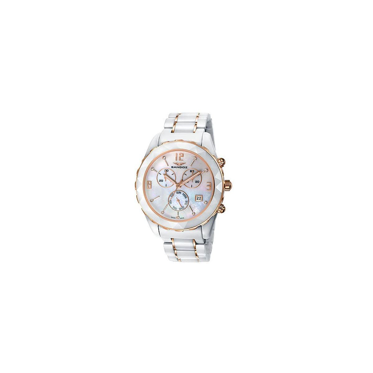 517CgUSHnWL. SS1200  - Reloj Sandoz Le Chic 81274-99 Mujer Nácar