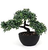 artfleur - künstlicher Bonsai 23 cm Kunstpflanze Grünpflanze