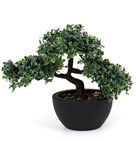 artfleur – künstlicher Bonsai 23 cm Kunstpflanze Grünpflanze
