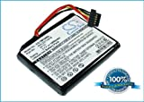 Batterie pour TomTom Go Live 1000, 3.7V, 1000mAh, Li-ion