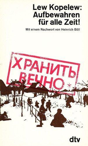 Buchseite und Rezensionen zu 'Aufbewahren für alle Zeit.' von Lev Z. Kopelev