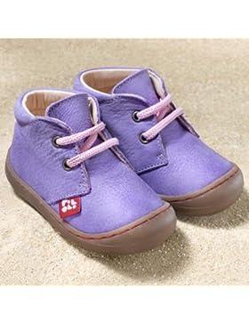 Pololo Baby/Kinder-Schuhe Lauflernschuhe Juan Lila