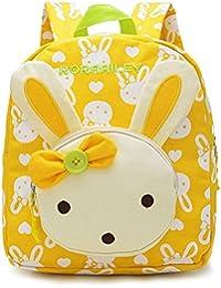 GWELL 3D Bunny Babyrucksack Kindergartenrucksack Kindergartentasche Backpack Schultasche Kinder Mädchen - preisvergleich