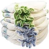 Flores größenangepasste Manta Bragas de pañales 5unidades algodón orgánico