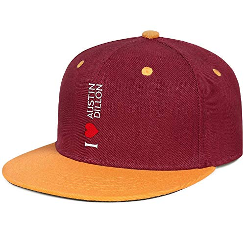 Benutzerdefinierte Für Erwachsene Kostüm - nchengcongzh Unisexpolo-Art-Baseballmütze Ich Liebe Erwachsenen Logo-Vati-Hut DIY 21888 Austins Dillon