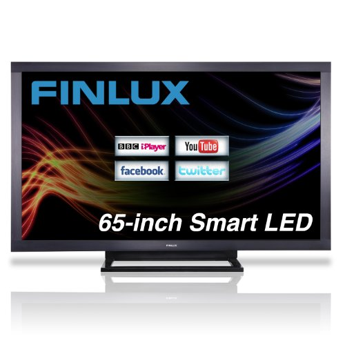 Finlux 65 Inch DLNA Smart TV Full HD 1080p Freeview HD PVR Widescreen Black - 65F8200-T