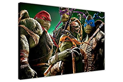 Teenage Mutant Ninja Turtles Kids Canvas Prints Wall Art Pictures Superhero Photos Poster Images