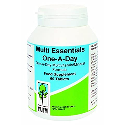 Nutri 50mg Multi Essentials One A Day 60 Tablets