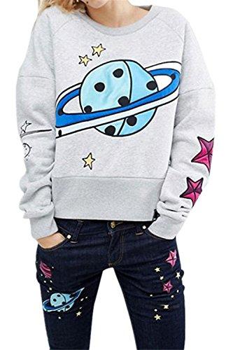 planet-stars-earth-space-printed-graphic-langarm-sweatshirt-t-shirt-tee-oberteil-top-grau-m