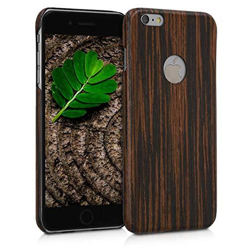 kalibri Apple iPhone 6 Plus / 6S Plus Hülle - Handy Holz Schutzhülle - Slim Cover Case Handyhülle für Apple iPhone 6 Plus / 6S Plus